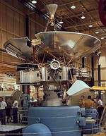 Pioneer 10 space probe, before launch.